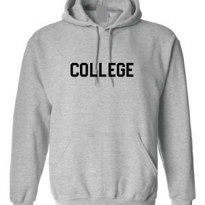 College, Grey/Black, Hoodie