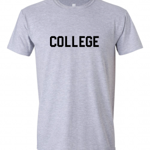 College, Grey/Black, T-Shirt