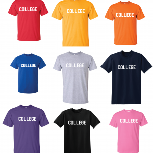 College, Hoodie, Long-Sleeved, T-Shirt, Crew Sweatshirt, Women's Cut T-Shirt
