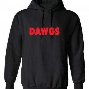 Dawgs - Georgia Bulldogs, Black, Hoodie