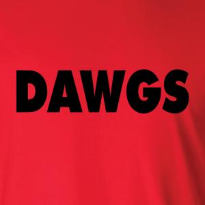 Dawgs - Georgia Bulldogs, Hoodie, Long-Sleeved, T-Shirt, Crew Sweatshirt, Women's Cut T-Shirt