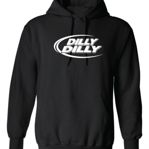 Dilly Dilly, Black, Hoodie
