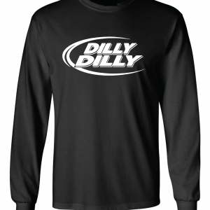Dilly Dilly, Black, Long-Sleeved