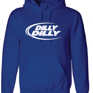 Dilly Dilly, Royal Blue, Hoodie