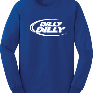 Dilly Dilly, Royal Blue, Long-Sleeved