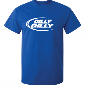 Dilly Dilly, Royal Blue, T-Shirt