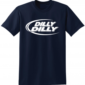 Dilly Dilly, Navy, T-Shirt