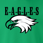 Eagles Head - Philadelphia Eagles, Hoodie, Long-Sleeved, T-Shirt, Crew Sweatshirt, Women's Cut T-Shirt