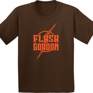 Flash Gordon -Josh Gordon, Brown, T-Shirt