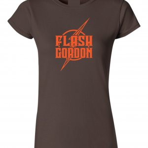 Flash Gordon -Josh Gordon, Brown, Women's Cut T-Shirt