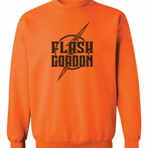 Flash Gordon -Josh Gordon, Orange, Crew Sweatshirt