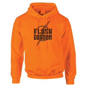 Flash Gordon -Josh Gordon, Orange, Hoodie
