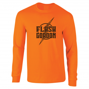 Flash Gordon -Josh Gordon, Orange, Long-Sleeved