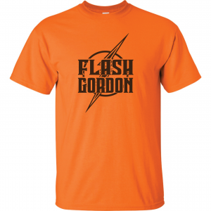 Flash Gordon -Josh Gordon, Orange, T-Shirt