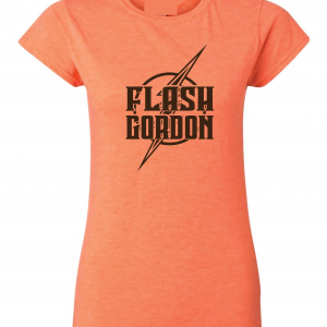 Flash Gordon -Josh Gordon, Orange, Women's Cut T-Shirt