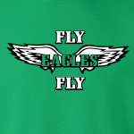 Fly Eagles Fly - Philadelphia Eagles, Hoodie, Long-Sleeved, T-Shirt, Crew Sweatshirt, Women's Cut T-Shirt