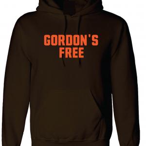 Gordon's Free - Josh Gordon - Cleveland Browns, Brown, Hoodie