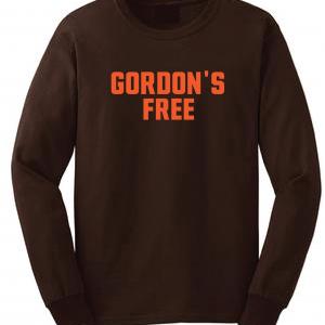 Gordon's Free - Josh Gordon - Cleveland Browns, Brown, Long-Sleeved