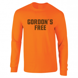 Gordon's Free - Josh Gordon - Cleveland Browns, Orange, Long-Sleeved