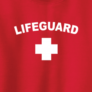 Lifeguard, Hoodie, Long-Sleeved, T-Shirt, Crew Sweatshirt, Women's Cut T-Shirt