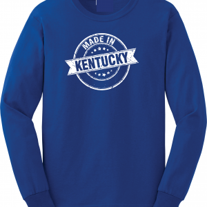 Made in Kentucky, Royal Blue, Long-Sleeved