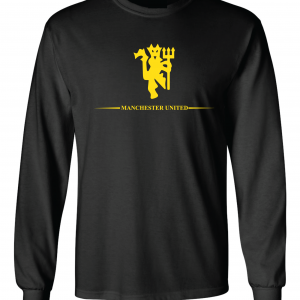Manchester United, Black/Yellow, Long-Sleeved