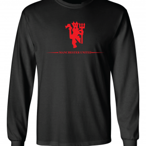 Manchester United, Black/Red, Long-Sleeved