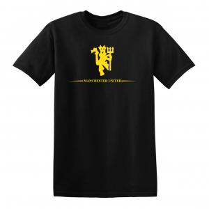 Manchester United, Black/Yellow, T-Shirt