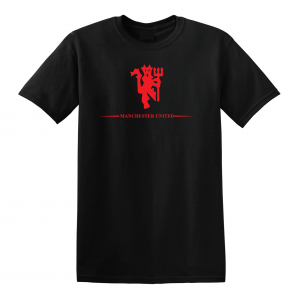 Manchester United, Black/Red, T-Shirt