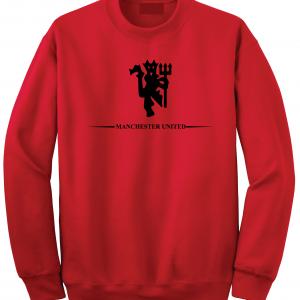 Manchester United, Red/Black, Crew Sweatshirt