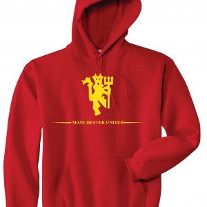 Manchester United, Red/Yellow, Hoodie