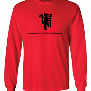 Manchester United, Red/Black, Long-Sleeved