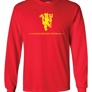 Manchester United, Red/Yellow, Long-Sleeved