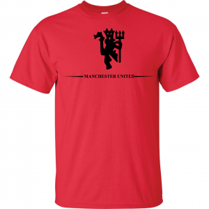 Manchester United, Red/Black, T-Shirt