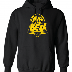 Saved by the Bell - Pittsburgh Steelers, Black, Hoodie