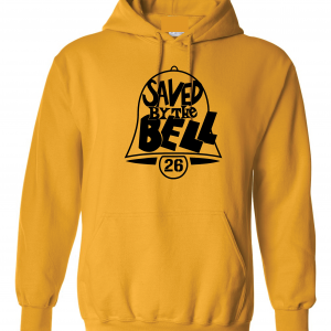 Saved by the Bell - Pittsburgh Steelers, Gold, Hoodie