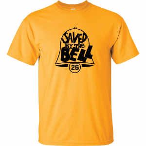 Saved by the Bell - Pittsburgh Steelers, Gold, T-Shirt