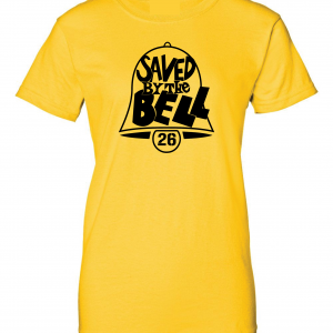 Saved by the Bell - Pittsburgh Steelers, Gold, Women's Cut T-Shirt