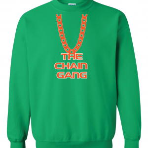 The Chain Gang - Miami Hurricanes, Green, Crew Sweatshirt