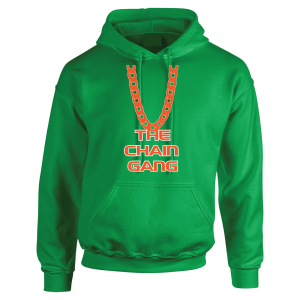 The Chain Gang - Miami Hurricanes, Green, Hoodie