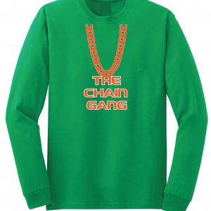 The Chain Gang - Miami Hurricanes, Green, Long-Sleeved