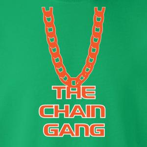 The Chain Gang - Miami Hurricanes, Hoodie, Long-Sleeved, T-Shirt, Crew Sweatshirt, Women's Cut T-Shirt