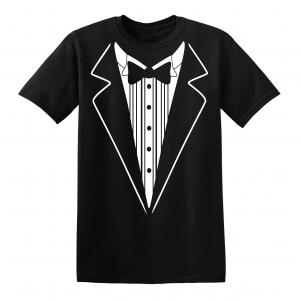Tuxedo, Black, T-Shirt