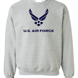 US Air Force, Grey, Sweatshirt