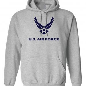 US Air Force, Grey, Hoodie