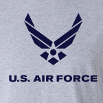 US Air Force, Hoodie, Long-Sleeved, T-Shirt, Crew Sweatshirt, Women's Cut T-Shirt