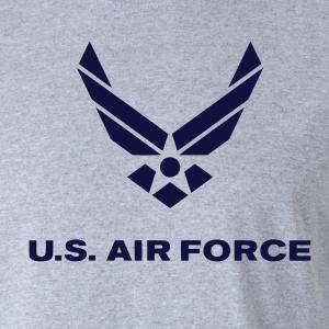US Air Force, Hoodie, Long-Sleeved, T-Shirt, Crew Sweatshirt, Women's Cut T-Shirt
