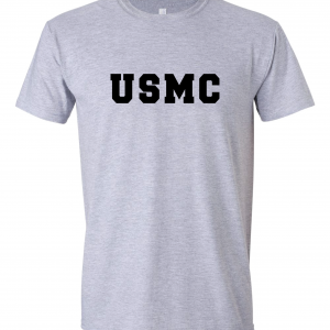 USMC - Marine Corps, Grey, T-Shirt