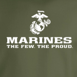 USMC World - Marines, Hoodie, Long-Sleeved, T-Shirt, Crew Sweatshirt, Women's Cut T-Shirt
