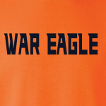 War Eagle - Auburn, Hoodie, Long-Sleeved, T-Shirt, Crew Sweatshirt, Women's Cut T-Shirt